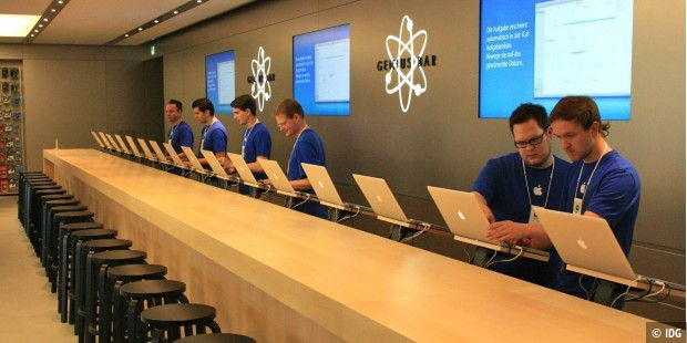 Apple Store und Genius Bar