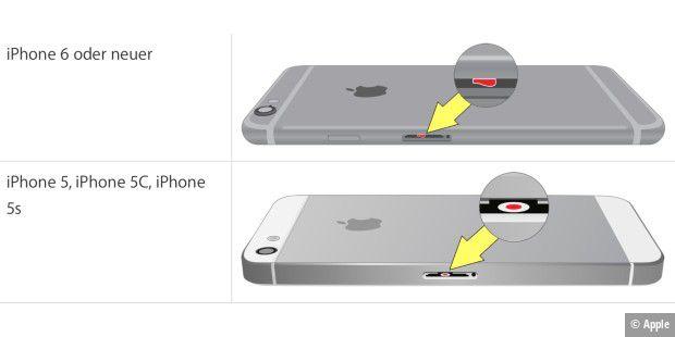 iPhone ins Wasser gefallen: So retten Sie ihr Smartphone ...