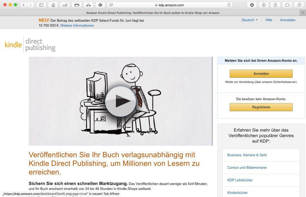 So veröffentlichen Sie Ihr eigenes E-Book bei Amazon und Apple - Macwelt
