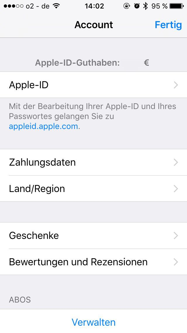 sprache im app store auf dem iphone ndern macwelt. Black Bedroom Furniture Sets. Home Design Ideas