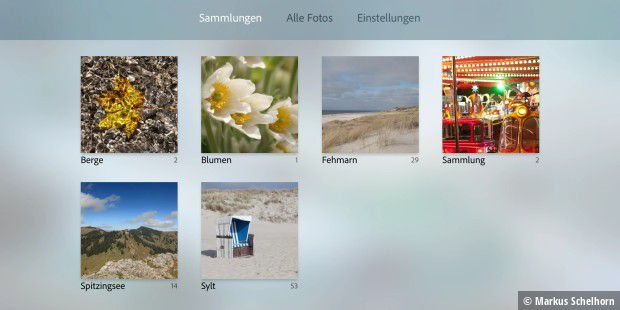 Adobe Photoshop Lightroom für Apple TV