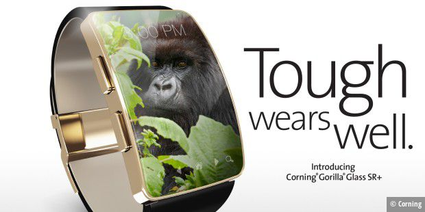 Gorilla Glass SR+ für Smartwatches