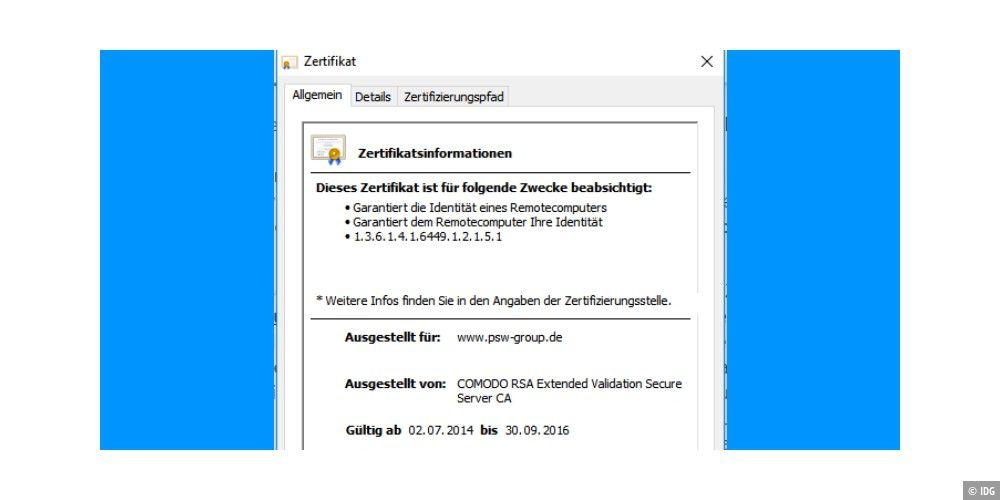 Server Zertifikat Ist Abgelaufen Das Bedeuten Fehlermeldungen Bei