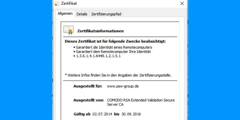 Server-Zertifikat ist abgelaufen - Das bedeuten Fehlermeldungen bei ...
