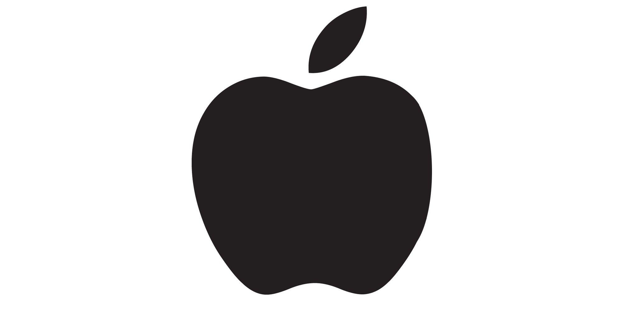 Apple Logo ohne Biss