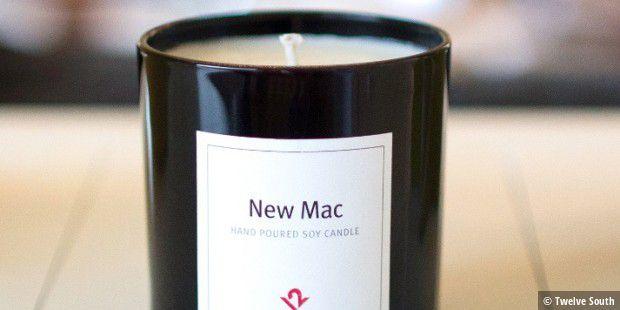 abgedreht wachskerze riecht nach frisch ge ffnetem mac macwelt. Black Bedroom Furniture Sets. Home Design Ideas