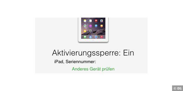 Apple-Fußzeile