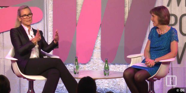 Angela Ahrendts auf dem Most Powerful Women Summit 2016