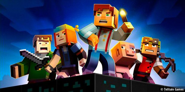 """Minecraft: Story Mode – Episode 1"" ab sofort gratis"