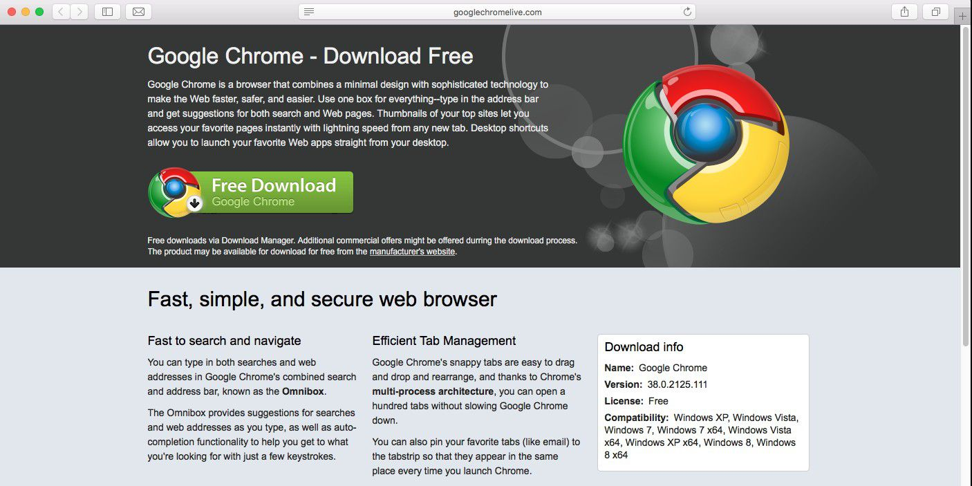 Download Google Chrome Latest Version For Xp