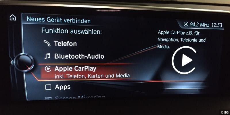 Apple Carplay im Test: Funktionen, Apps, Anbieter, Wireless Carplay