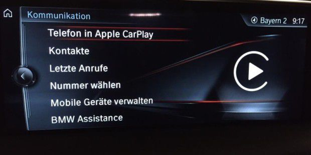 Telefonie mit Carplay