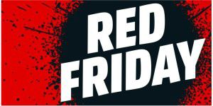 "50 Prozent sparen: Media Markt ""Red Friday"""