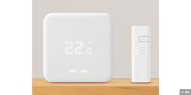 Thermostat und Internet Bridge von Tado.
