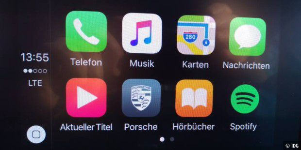 Home Screen von Carplay