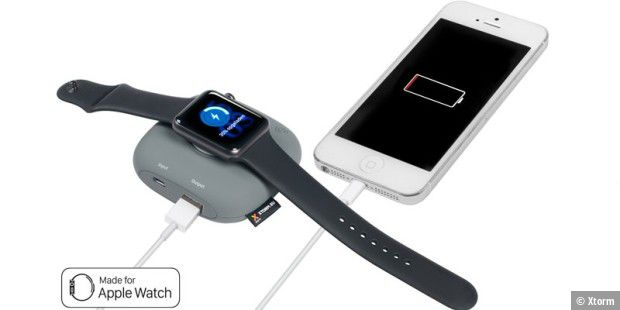 Powerbank für die Apple Watch