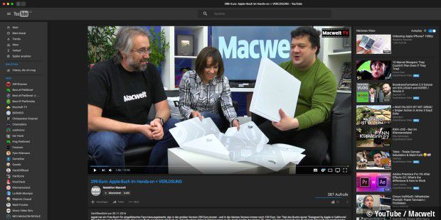 DeskApp for YouTube: Die Alternative zum Safari-Browser mit