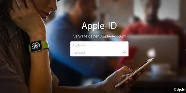 passwort vergessen apple id