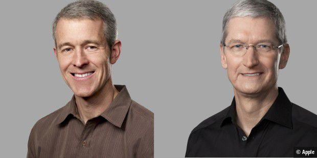 Tim Cook und Jeff Willams