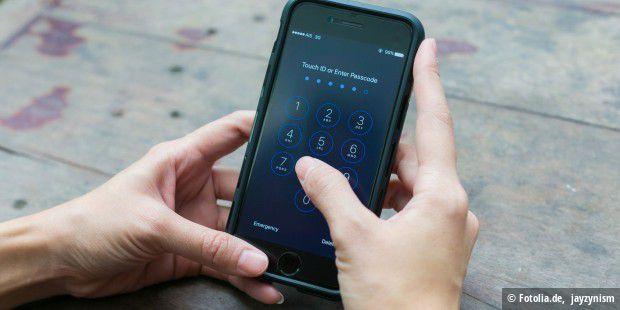 Iphone 7 Code Vergessen