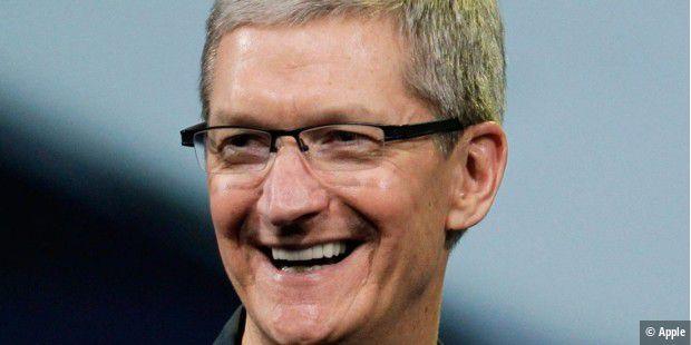 Apple-CEO Tim Cook bestbezahlter Chef im S&P 500