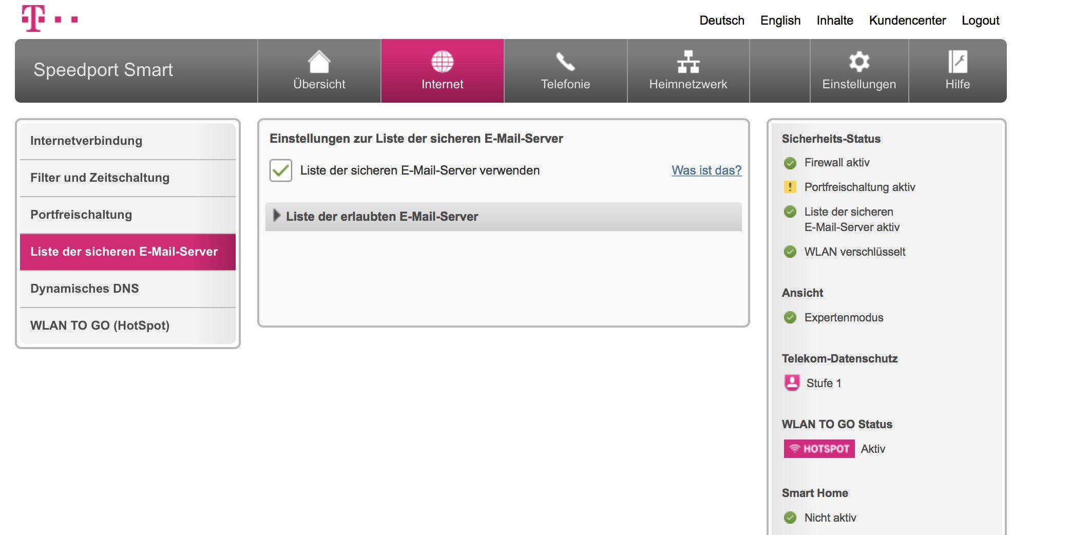 Telekom Router E Mails Werden Nicht Versendet Macwelt