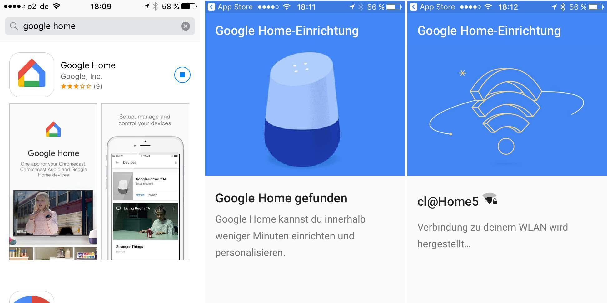 google home chromecast im test schlauer als alexa macwelt. Black Bedroom Furniture Sets. Home Design Ideas