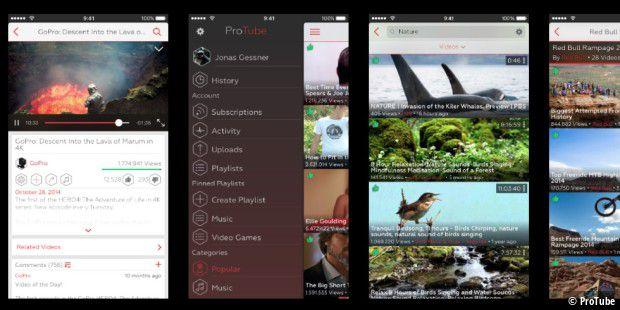 apple wirft alternative youtube app aus dem app store macwelt. Black Bedroom Furniture Sets. Home Design Ideas