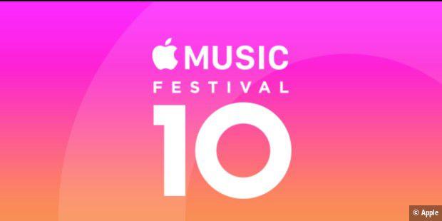 Apple Music Festival in London wird beerdigt