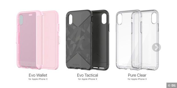 Evo Wallet, Evo Tactical und Pure Clear