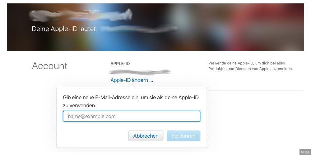 3b9d519df1 Ihre Apple ID basiert auf uralter E-Mail-Adresse? So geht die  Aktualisierung. - Macwelt