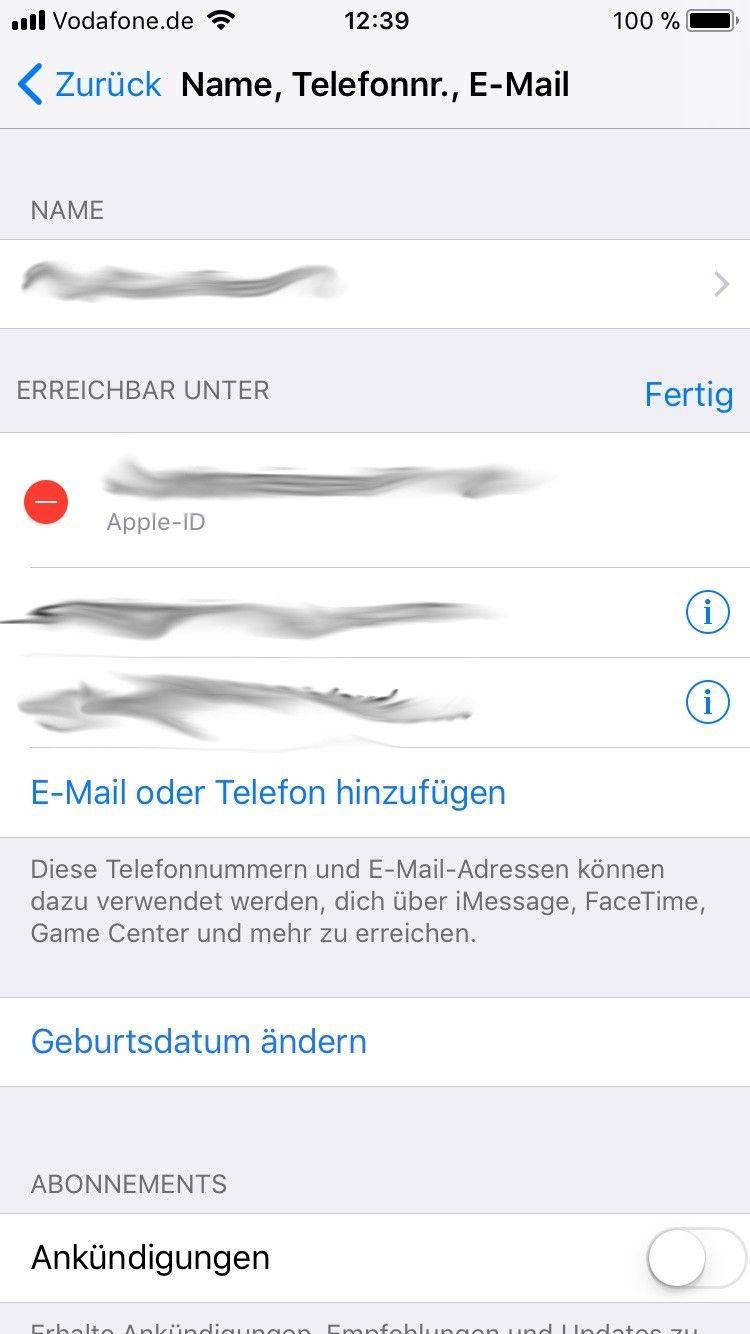 Ihre Apple Id Basiert Auf Uralter E Mail Adresse So Geht Die