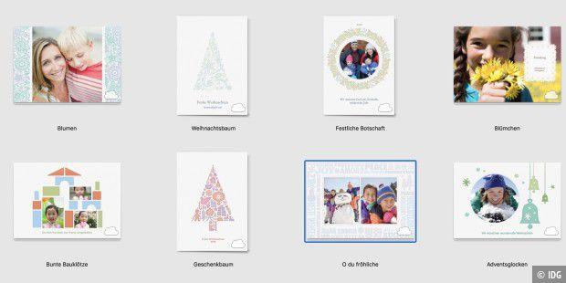 Persönliche Weihnachtskarten Foto.Persönliche Weihnachtskarte Mit Fotos Und Photoshop Macwelt