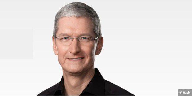 Apple teilt mit: 2017 hat Tim Cook 102 Mio. Dollar erhalten