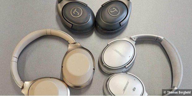 NC-Kopfhörer im Vergleich