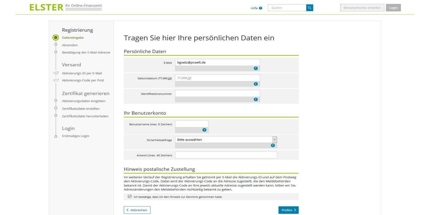 Steuererklärung 2017 mit Elster Online: So geht\'s - Macwelt