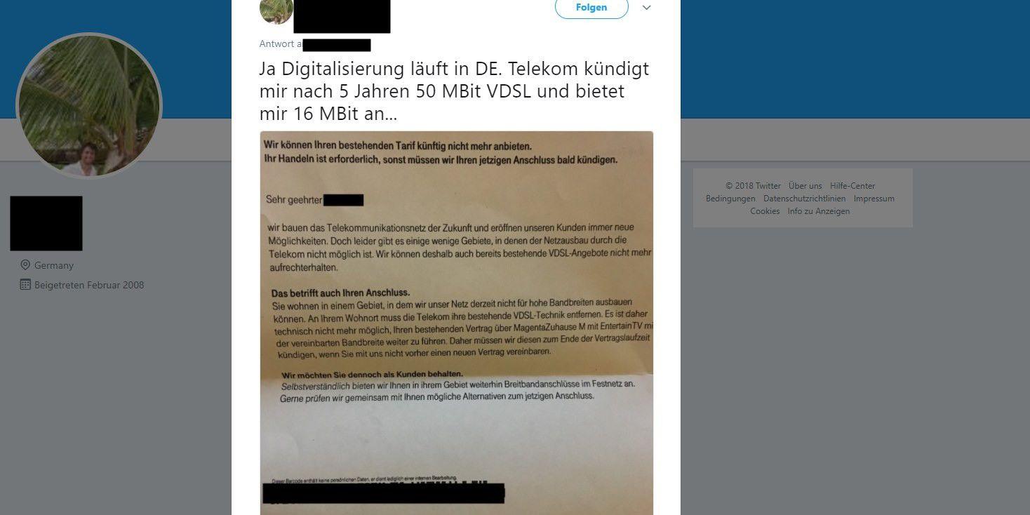 Deutsche Telekom Kündigt Zehntausende Vdsl Verträge Macwelt