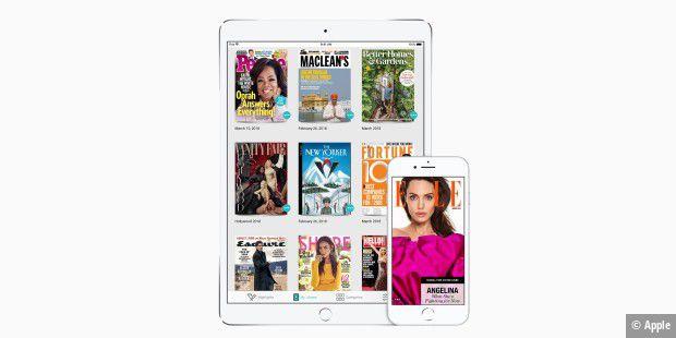 Ähnlich wie Readly: Apple übernimmt Magazin-Flatrate Texture