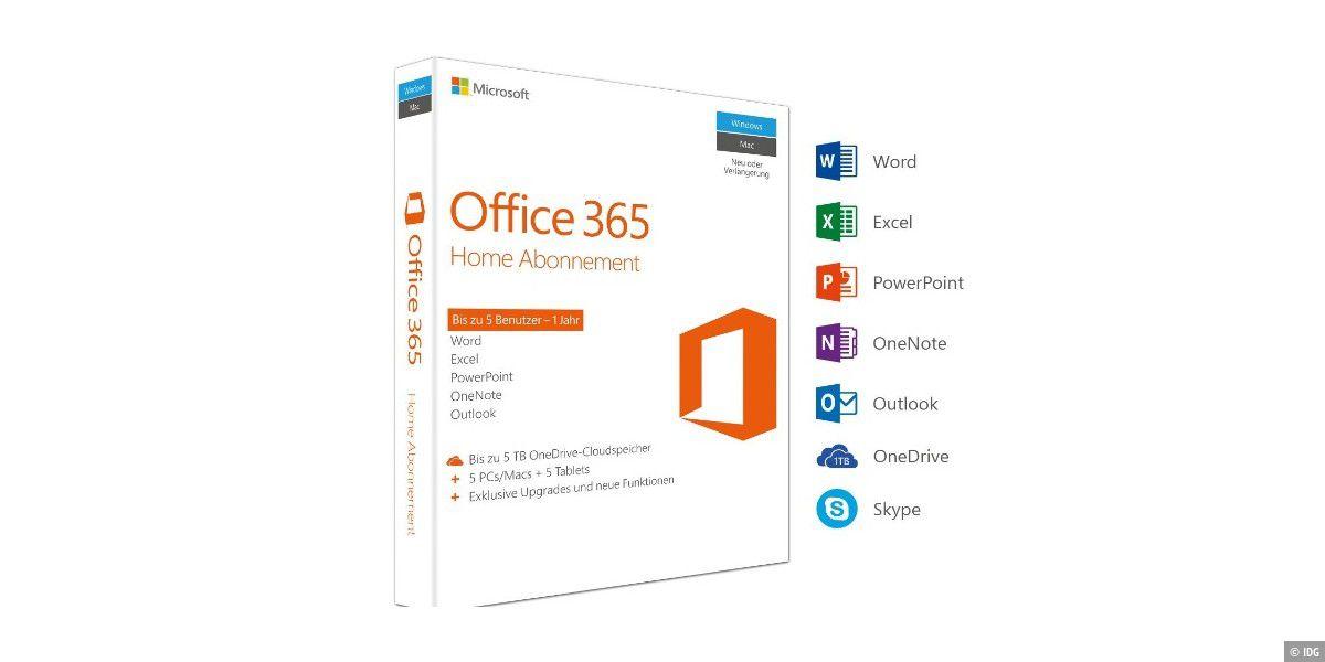Microsoft Office 365 Home für nur 53,49 Euro