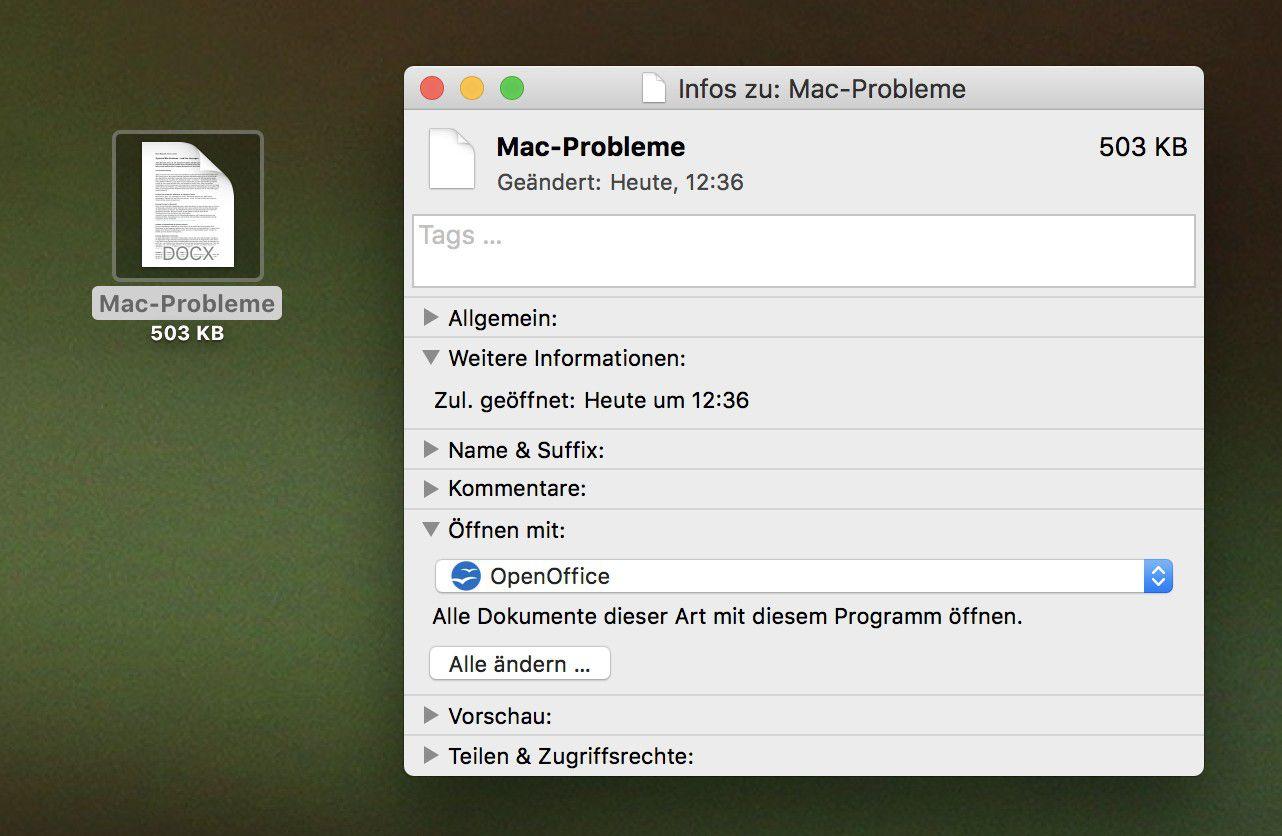 mac programm hängt