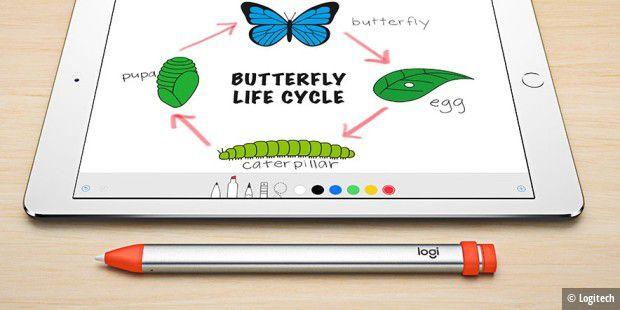 Logitech: Neue günstige iPad-Hülle und Stylus für die Schule