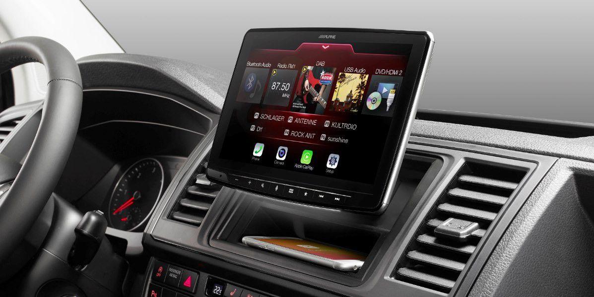 alpine ilx f903d carplay android auto dab 9 zoll. Black Bedroom Furniture Sets. Home Design Ideas