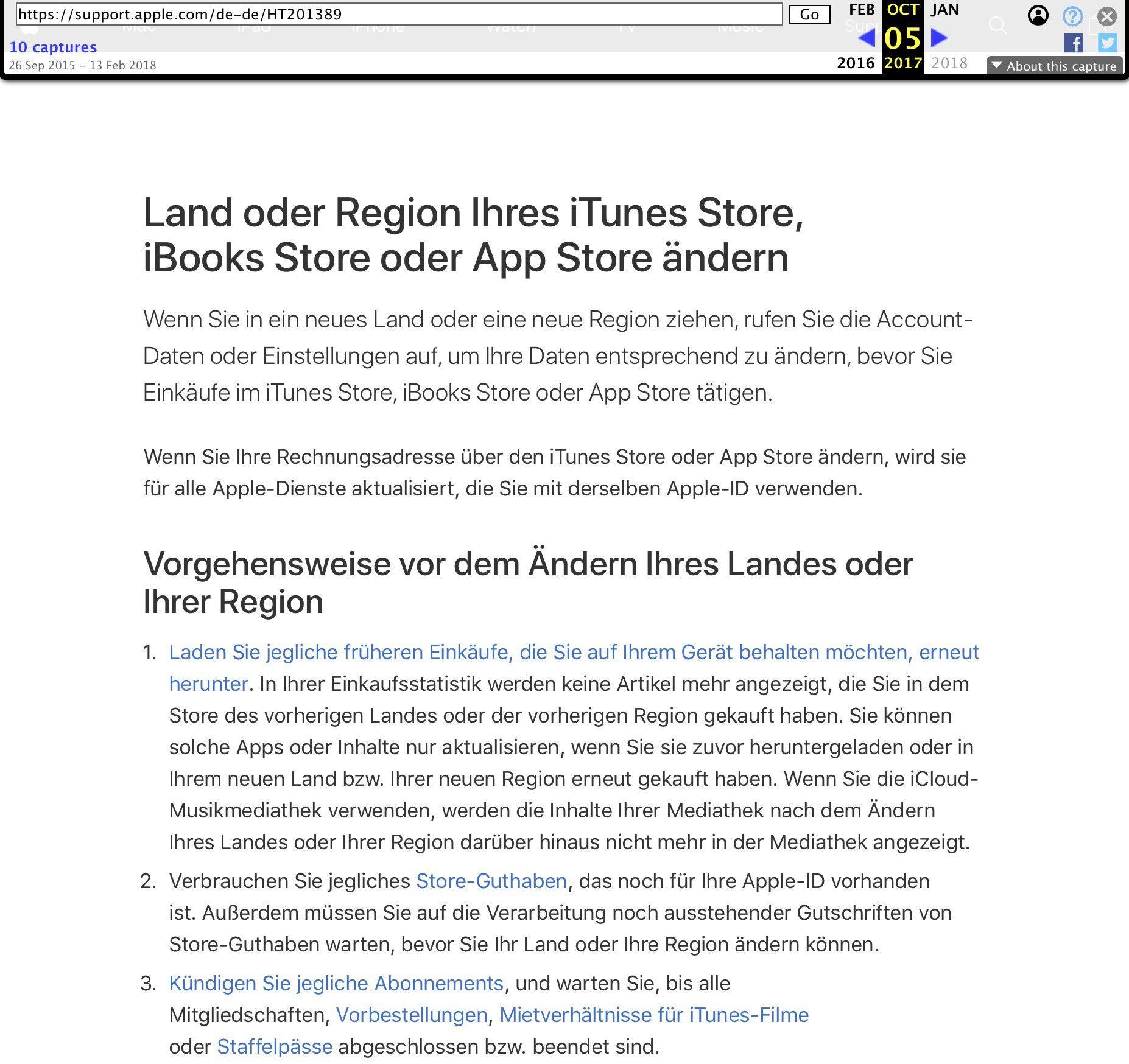 Apple Id Lässt Jetzt App Umzug Ins Ausland Zu Macwelt