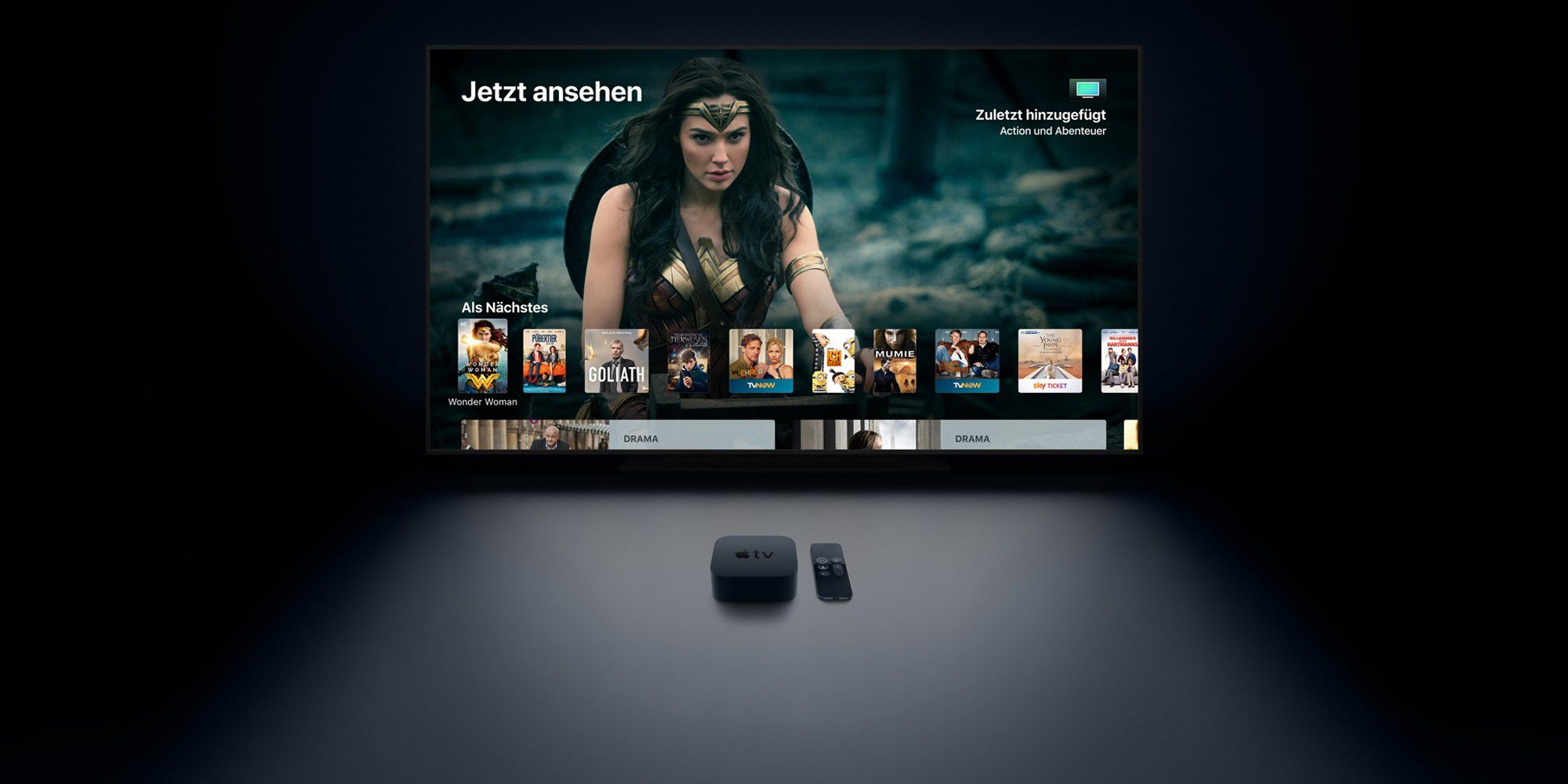 apple tv richtig einrichten optimal einstellen effektiv nutzen macwelt. Black Bedroom Furniture Sets. Home Design Ideas