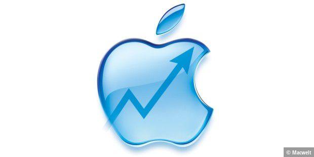 Apple steigert iPhone-Absatz, Mac-Verkäufe stagnieren