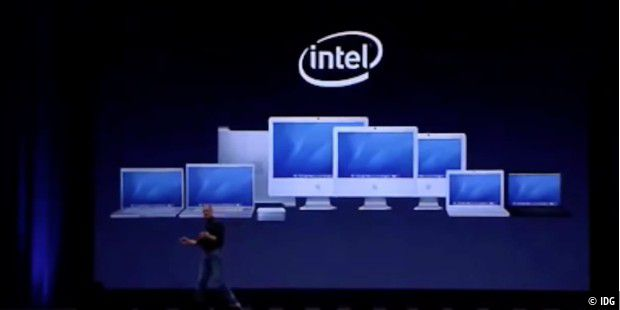 2007: Mission accomplished – alle Macs laufen mit Intel-Chips
