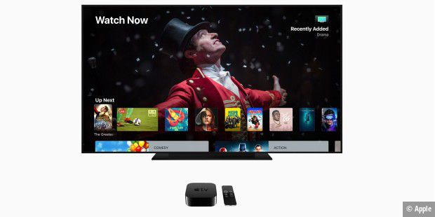 Apple TV 4K mit tvOS 12
