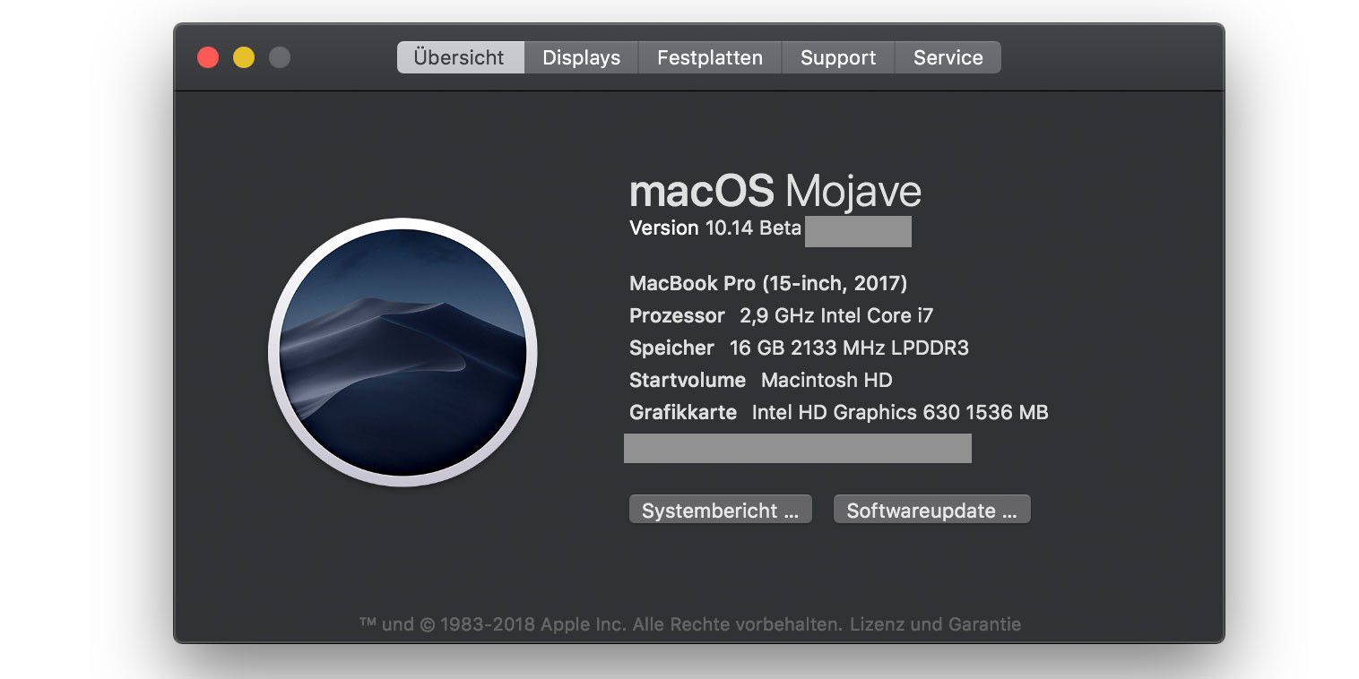 So installieren Sie macOS 10.14 Mojave Public Beta - Macwelt