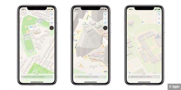 iOS 12: So werden neuen Karten - Macwelt Download Map Iphone Offline on