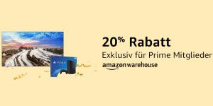 20 Prozent Extrarabatt bei Amazon Warehouse Deals